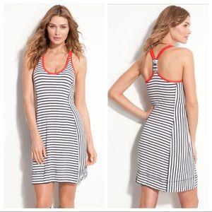 Tory Burch Stripe Cover-Up Dress
